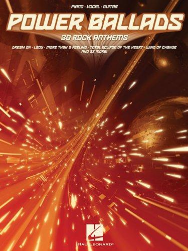 9781423458081: Power Ballads: 30 Rock Anthems