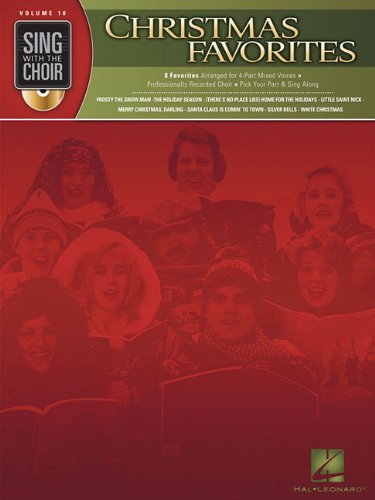 9781423458142: Christmas Favorites - Sing With the Choir Vol. 10