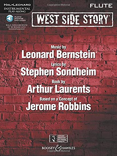 9781423458234: West Side Story Play-Along: Flute - Solo arrangements of 10 songs with CD accompaniment - for solo flute (BHL 10566) (Hal Leonard Instrumental Play-Along)