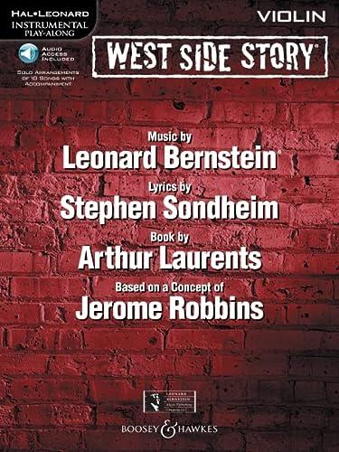 9781423458302: West Side Story Flute BK/CD Instrumental Play-Along (Hal Leonard Instrumental Play-Along)