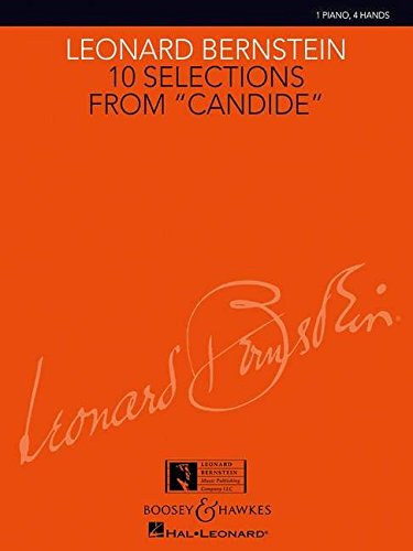 10 Selections from Candide: 1 Piano, 4 Hands: Harmon, Charlie