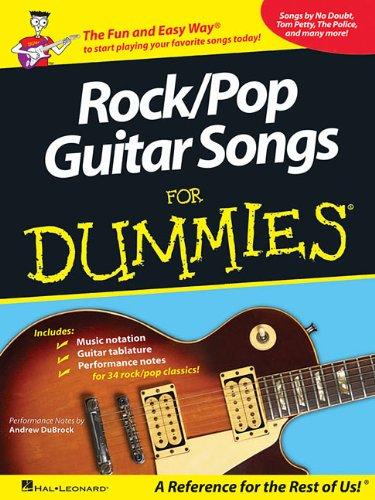 Rock/Pop Guitar Songs for Dummies: Andrew DuBrock