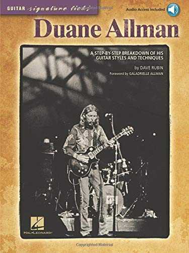 9781423458708: Duane Allman: A Step-By-Step Breakdown of His Guitar Styles and Techniques [With CD (Audio)] (Guitar Signature Licks)