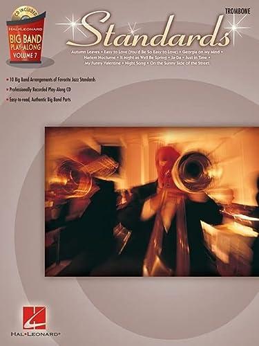 9781423458852: Standards - Trombone: Big Band Play-Along Volume 7