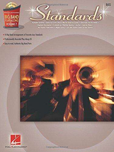 9781423458883: Standards - Bass: Big Band Play-Along Volume 7 (Hal Leonard Big Band Play-Along)