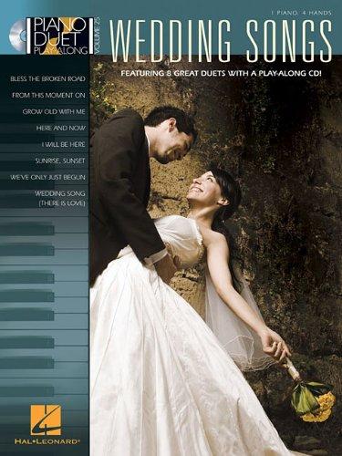 Wedding Songs: Piano Duet Play-Along Volume 25: Hal Leonard Corp.