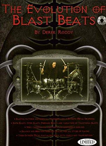 9781423460169: Derek roddy: the evolution of blast beats batterie+CD