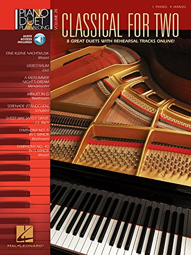 9781423460268: Classical for Two: Piano Duet Play-Along Volume 28 Book & Online Audio