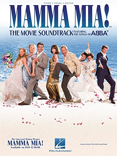 Mamma Mia!: The Movie Soundtrack Featuring the Songs of ABBA (Piano Vocal Guitar) (1423461339) by ABBA
