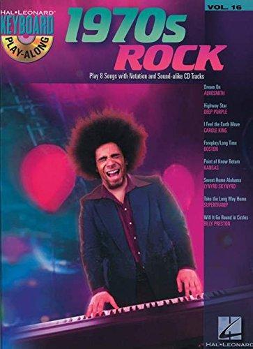 9781423461821: 1970s Rock - Keyboard Play-Along Volume 16 BK/CD (Hal Leonard Keyboard Play-along)