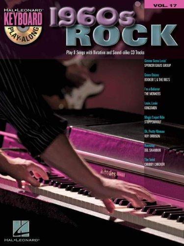 9781423461852: 1960s Rock: Keyboard Play-Along Volume 17