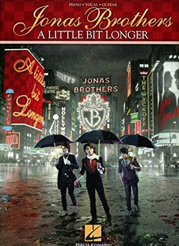 9781423463726: Jonas Brothers - A Little Bit Longer (Piano, Vocal, Guitar)