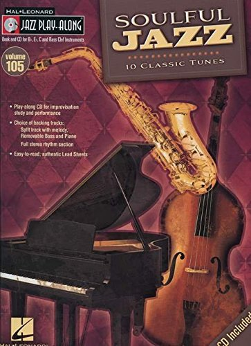 9781423463870: Soulful Jazz: Jazz Play-Along Volume 105