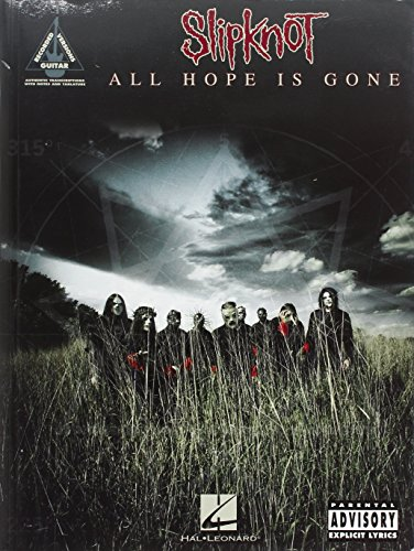 9781423465058: Slipknot - All Hope is Gone (Guitar Recorded Versions)