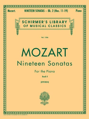 9781423466048: Nineteen (19) Sonatas For The Piano Book 2 English Spanish Text (Schirmer's Library of Musical Classics)