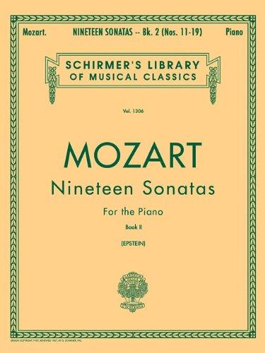9781423466048: 19 Sonatas - Book 2: Piano Solo (Schirmer's Library of Musical Classics)