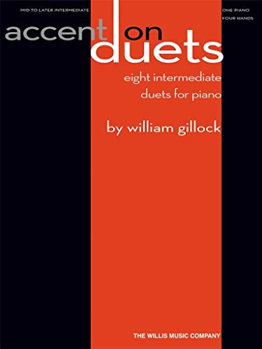 9781423466413: Accent on Duets: Mid to Later Intermediate Level/1 Piano, 4 Hands