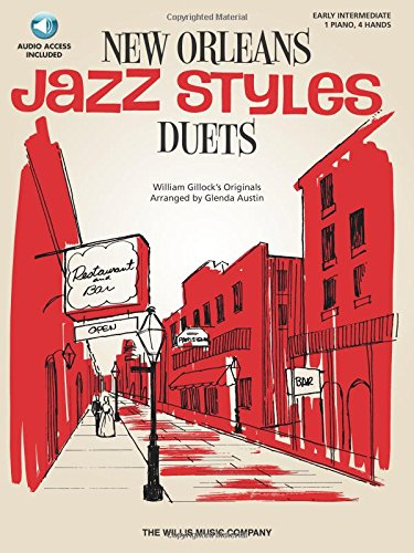 9781423466659: William Gillock New Orleans Jazz Style Duets Pf Book/Cd (New Orleans Jazz Styles Duets)