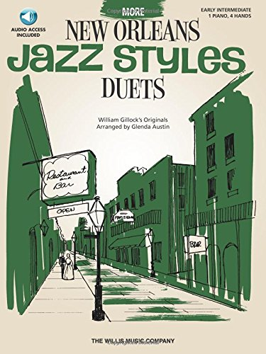 9781423466666: More New Orleans Jazz Styles Duets - Book/Audio: Early Intermediate Level