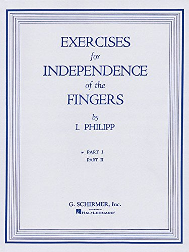 9781423466727: Exercises For Independence Of The Fingers Part 1