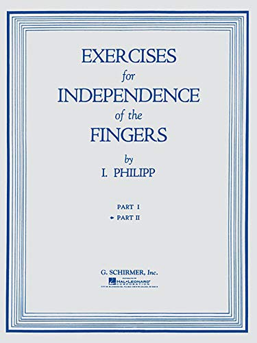 9781423466734: Exercises for Independence of Fingers - Book 2: Piano Technique (Piano Methods, Studies, and Exercises)