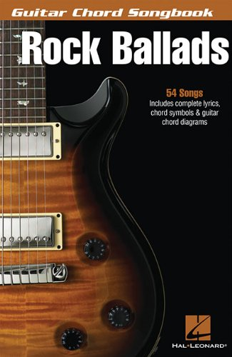 9781423467281: Rock Ballads (Guitar Chord Songbooks)