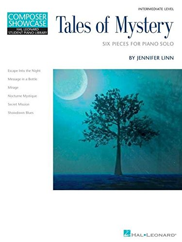 9781423468257: Tales of Mystery: Six Pieces for Piano Solo: Intermediate Level