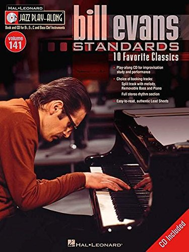 9781423468677: Bill Evans Standards (Hal Leonard Jazz Play-Along)