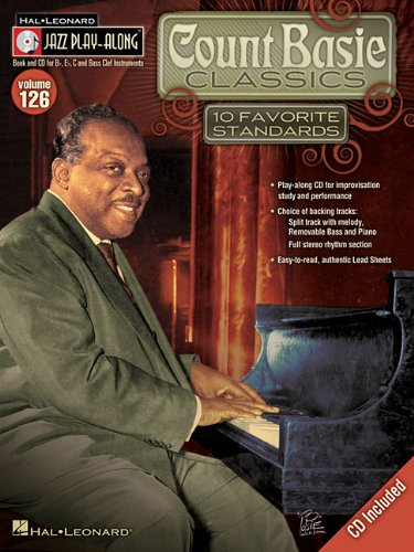 Count Basie Classics: Jazz Play-Along Volume 126: Count Basie