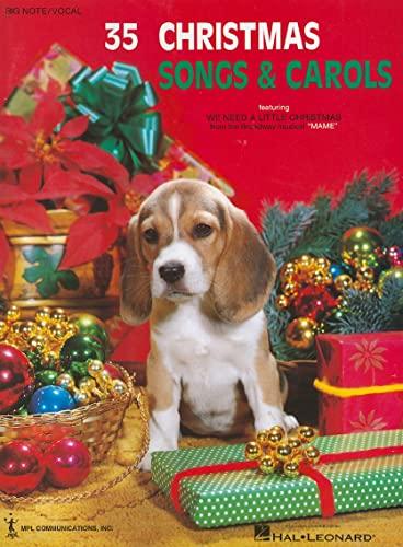 9781423468950: 35 Christmas Songs and Carols Big Note Piano