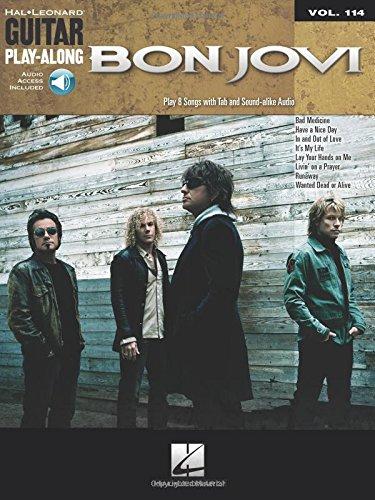 9781423468981: Bon Jovi: Guitar Play-Along Volume 114