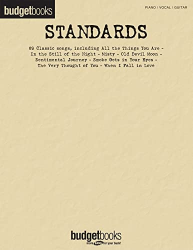 9781423469834: Standards: Budget Books