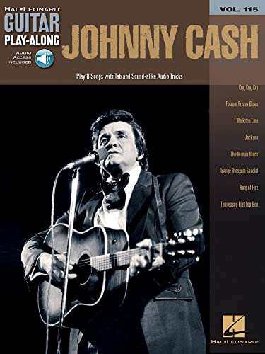 Johnny Cash: Guitar Play-Along Volume 115 (9781423469841) by Johnny Cash