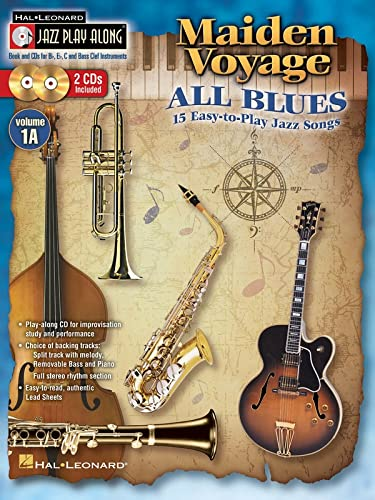 Jazz Play Along Volume 1A Maiden Voyage All Blues Easy Book/Cd: VARIOUS