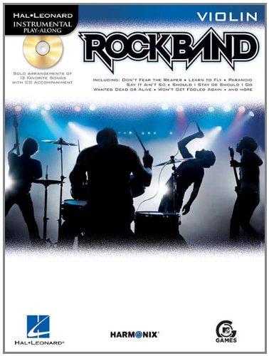 9781423472612: Rock Band: Violin (Hal Leonard Instrumental Play-Along)