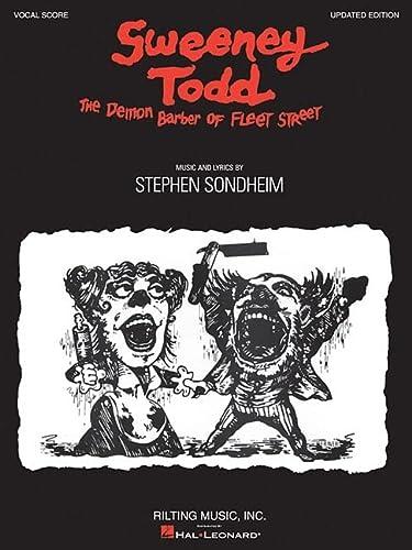 Sweeney Todd: Vocal Score: Stephen Sondheim
