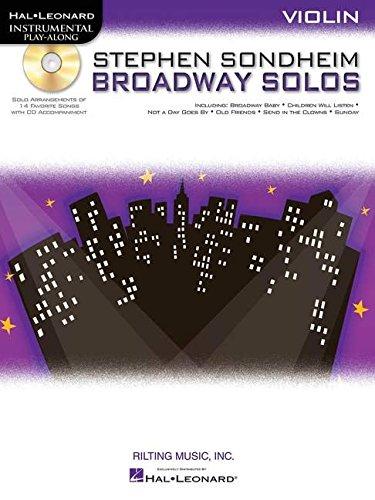 9781423472834: Stephen Sondheim - Broadway Solos: Violin (Hal Leonard Instrumental Play-Along)