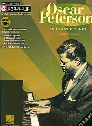 9781423473312: Oscar Peterson: Jazz Play-Along Volume 109