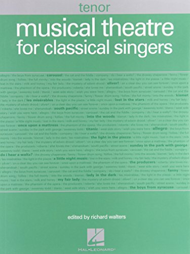 9781423474197: Musical Theatre For Classical Singers Tenor