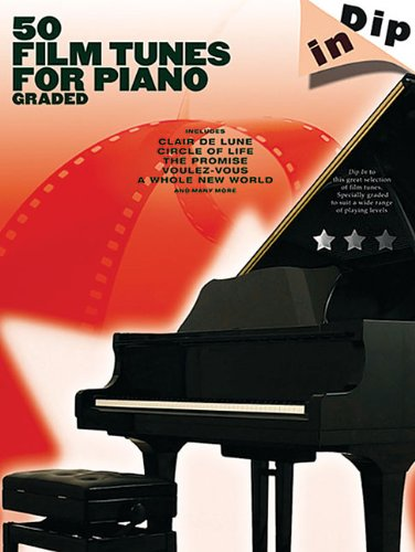 9781423475477: 50 Film Tunes for Piano: Dip In Series