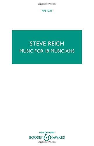 Music for 18 Musicians: Study Score (Hps 1239)