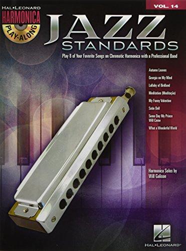 9781423475538: Jazz Standards: Harmonica Play-Along Volume 14 (Chromatic Harmonica) (Hal Leonard Harmonica Play-Along)