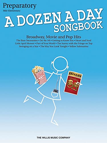 9781423475590: A Dozen A Day Songbook - Preparatory (Book Only)