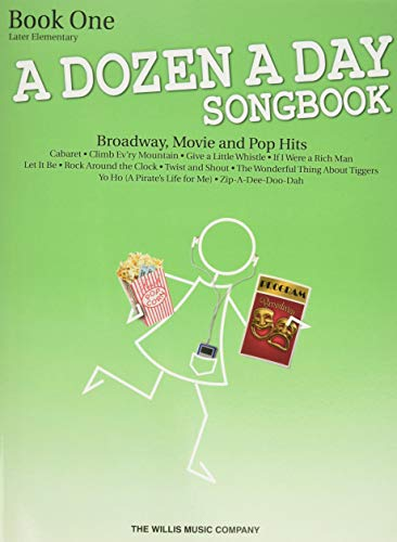9781423475606: A Dozen a Day Songbook Book 1 Late Elementary Early Intermed Pf Bk