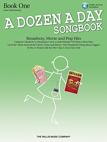 9781423475637: A Dozen a Day Songbook: Book 1: Piano