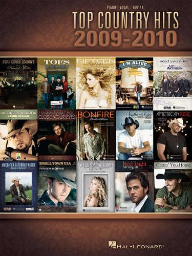 9781423476153: Top Country Hits of 2009-2010