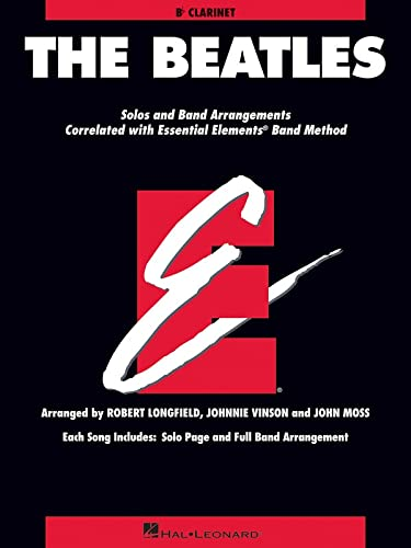 9781423476214: The Beatles: Essential Elements for Band Correlated Collections Clarinet