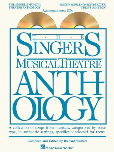 9781423476801: Singer's Musical Theatre Anthology Teen's Edition Mezzo/Alto/Belter CDs Only