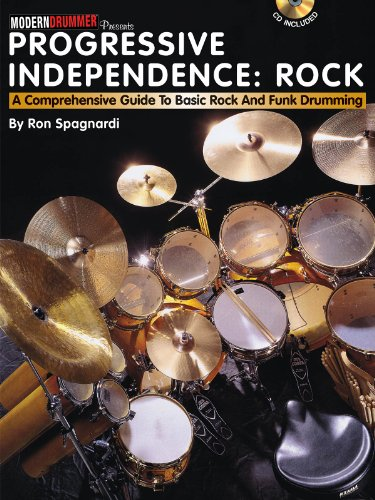 9781423477129: Progressive Independence: Rock: A Comprehensive Guide to Basic Rock and Funk Drumming
