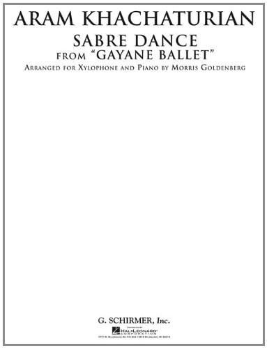 Sabre Dance from Gayane Ballet: Xylophone and: Khachaturian, Aram